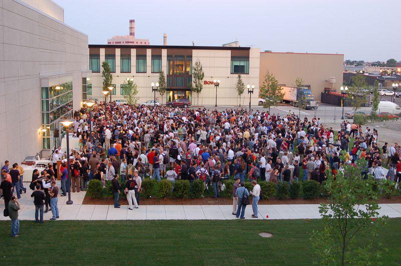 SIGGRAPH Autodesk Usergroup party, Boston USA 2006.