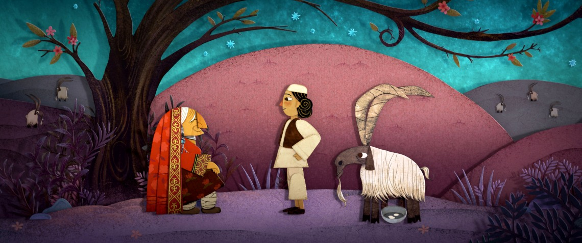 Storyworld_Sulayman and goat